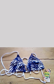 Stars & Stripes Bikini Triangle Top