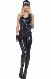 SWAT Team - Women's Cop Costume