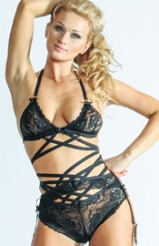 The Amazing - Sexy Three Piece Lingerie Set