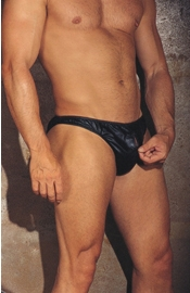 Romeo Conquers Juliet - Leather Zipper Briefs