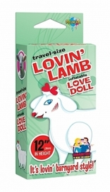 Travel Size Lovin' Lamb Inflatable Love Doll