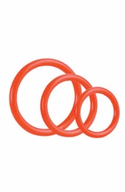 Tri-Ring Red - Sex Toy