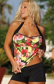 West Street Beach - Floral Tankini Swimsuit - Regular Price $129.00