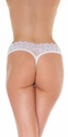 Heaven and Hell - Lace Open Crotch G-String