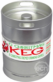 Xmas Keg Drinking Game