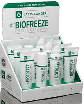 Biofreeze Professional Fall Sale Save through 9/21/2018