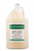 Herbal Select Massage Oil from Biotone