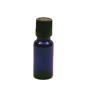 Blue Cobalt Bottle - 1/2 oz.(15ml) Insert Dropper