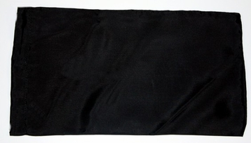 Case - Black Silk Eye Pillow Case