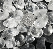 Crystal Quartz Tumbled Stones