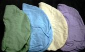 Economy Flannel Face Cradle Covers 4pk