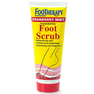 Footherapy Cranberry Mint Scrub
