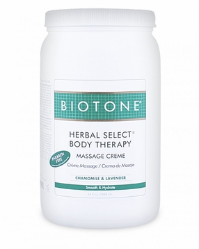 Herbal Select Body Therapy Massage Creme Half Gallon