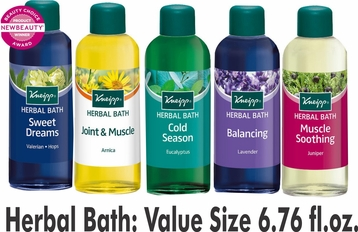Kneipp Herbal Bath: Value Size 6.76 fl.oz.