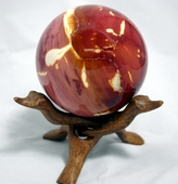 Mook Jasper Sphere 4 inches