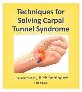 Massage Solutions for Carpal Tunnel Syndrome  6 CEU's