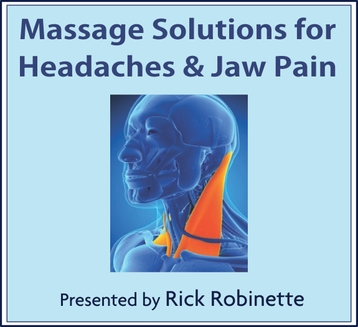 Massage Solutions for Headaches and Jaw Pain- 6 CEU's