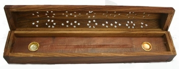 Wooden Domed Incense Box