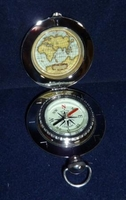 Dalvey Classic Voyager Pocket Compass with Engraving