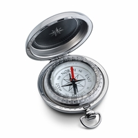 Custom Engraving Dalvey Silver Pocket Compass