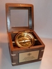 Executive Desk Compass, Custom Made Wooden Box