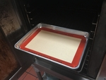 "Aluminum Sheet Pan 1/4 Size with Silicon Pan Liner  8.5""x 10"" Size"