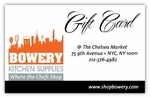 Bowery Kitchen Gift Card $100.00