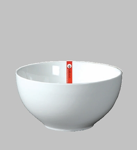 "BOWL 7.5"" WHITE  / MIN 3 PCS TO SHIP"