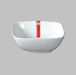 "BOWL SQ 5.5"" WHITE  / MIN 6 PCS TO SHIP"