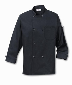 CHEF COAT BLACK