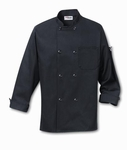 CHEF COAT BLACK    OUT OF STOCK