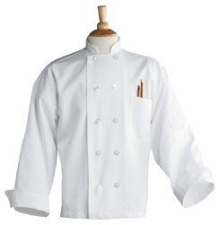 CHEF COAT WHITE OUT OF STOCK