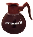 "Coffee Decanter 7-1/4"" High"