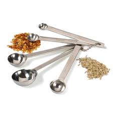 MEASURING SPOON SS 5PC