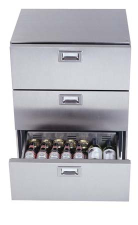 Outdoor Refrigerator 3 Drawer