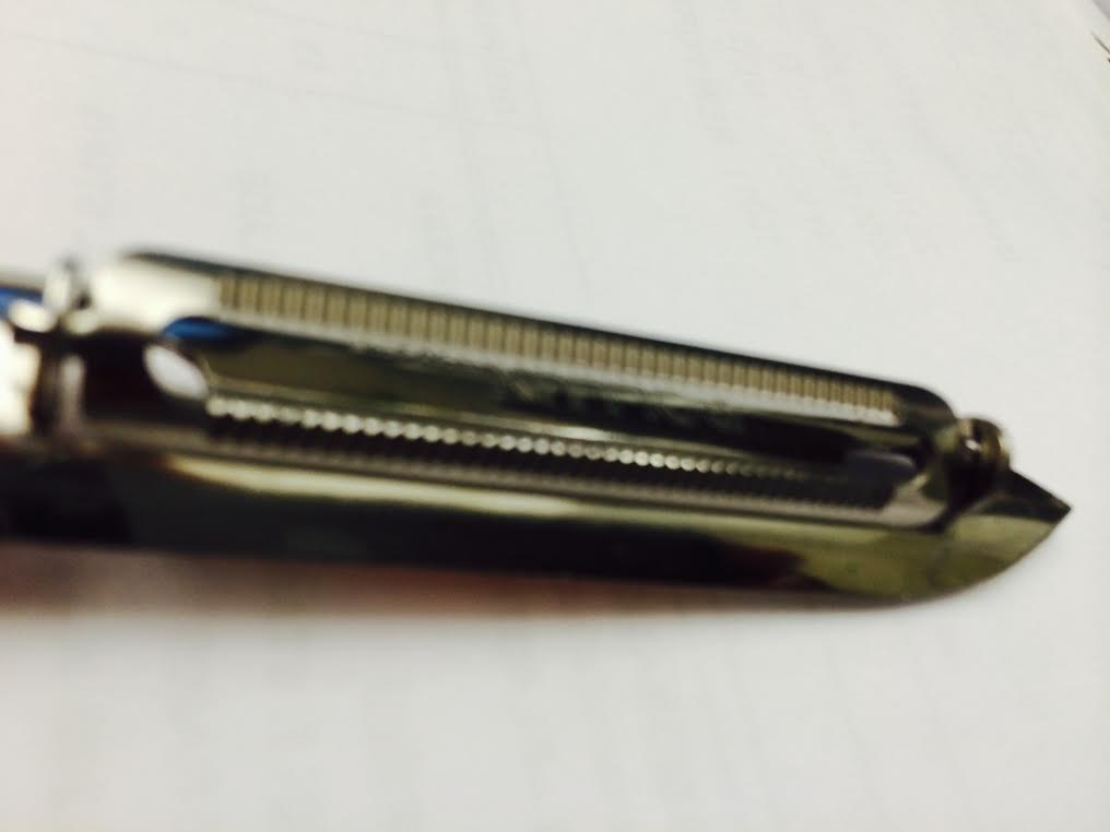 Peeler with Micro Serrated Blade