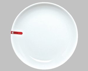 "PLATE 10.5"" ROUND WHITE / MIN 3 PCS TO SHIP"