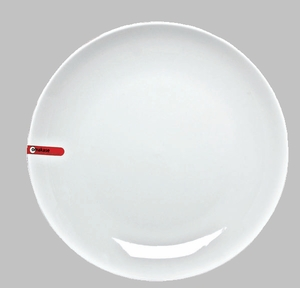 "PLATE 12"" ROUND WHITE / MIN 3 PCS TO SHIP"