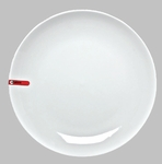 "PLATE 14"" ROUND WHITE / MIN 2 PCS TO SHIP"