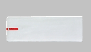 PLATE RECT 12.25X4 WHITE