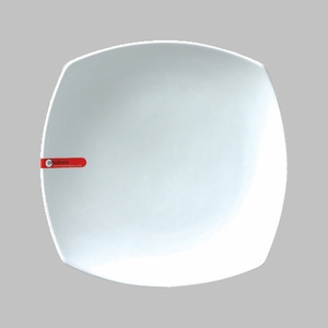 "PLATE SQ/RD 10"" WHITE / MIN 4 PCS TO SHIP"