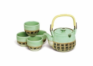 SUSHI CHARACTER TEA SET