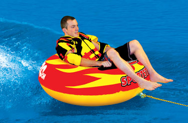 1-Rider Inflatable Towable Tubes