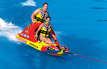 2-Rider Inflatable Towable Tubes