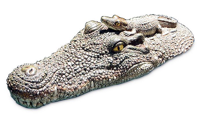 "20"" Crocodile Head Pool Float"