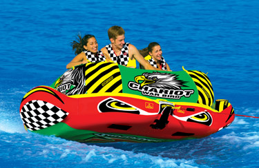 3-Rider Inflatable Towable Tubes