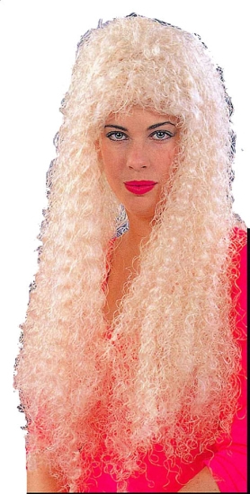 "30"" Curly Blonde Wig"