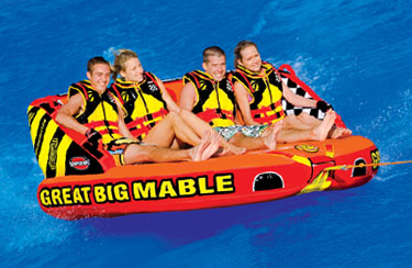 4-Rider Inflatable Towable Tubes