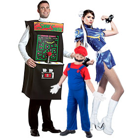 80s Video Game Costumes