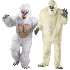 Abominable Snowman Costumes